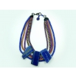 collier 5 rangs Lapis