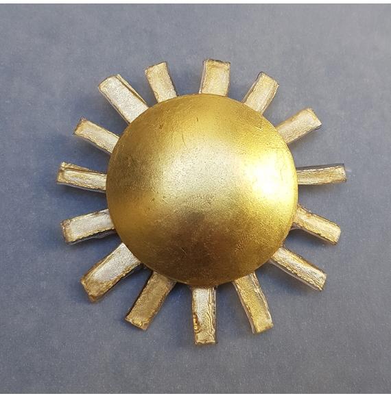 Broche soleil