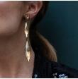 Boucle d'oreille strass longues