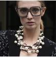 Collier batonnets+perles