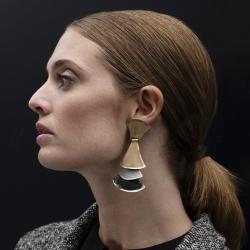 Boucle d'oreille metal